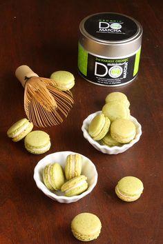Matcha Green Tea Macarons