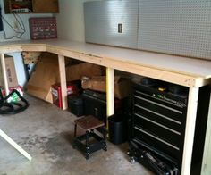 Cheap and Easy Garage Workbench: Tutorial with *amazing* instructions and save-able pdf