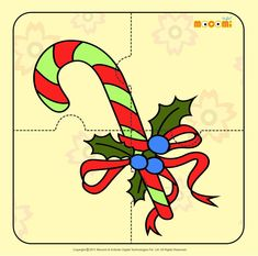 Christmas Decoration - Jigzaw Puzzles for Kids Preschool Christmas Crafts, Christmas Printables, A Christmas Story, Kids Christmas, Christmas 2019, Free Puzzles For Kids, Projects For Kids, Crafts For Kids, Articles For Kids