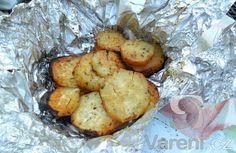 Pečené batáty v alobalu - Potatoes, Vegetables, Food, Meal, Eten, Potato, Veggie Food, Hoods, Vegetable Recipes