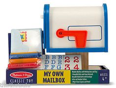 MY OWN MAILBOX ~ Melissa and Doug - so cute! #partner