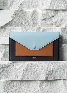 Céline Pocket Large Flap Multifunction Tan