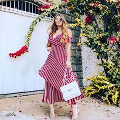 47+ Vestidos Casuales Largos de Moda para lucir con Estilo (2019) Moda Fashion, Curvy Fashion, Womens Fashion, Fashion Tips, Modest Dresses, Maxi Dresses, Chic Dress, Skirt Outfits, Wrap Dress