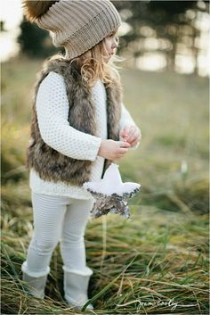 Perfect winter outfit for our little girls