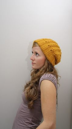 This is a great hat, and an easy knit pattern.