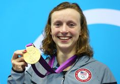 Katie Ledecky - Women's 800m Freestyle - Gold - beating Janet Evans record - she is the youngest athlete on the US Olympic Teams - 15 years old