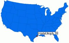 Crystal Beach Tx Map | Profile for Crystal Beach, Texas, TX