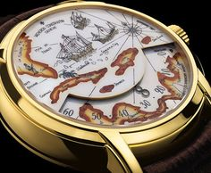 I am in love with this right now! Vacheron Constantin world map watch..