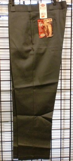 2b90c64ded Dickies 874 PANTS Men Original Fit Classic Work Uniform - Charcoal 42x32  #Grays #CasualPants #dickies