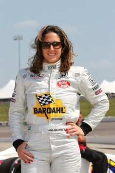 """Ana Beatriz Figueiredo Indy Race Driver - Ever since I was three years old I was crazy about racing and all types of sports. I was a total """"tomboy"""". When I saw a go-kart for the first time I went mad, I was only five years old at the time. I kept begging my dad to let me drive, but it wasn't until three years later, when I turned eight years old that he actually let me kart."""