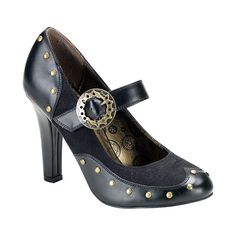Shoes are among the most versatile and necessary elements of a woman's outfit and the right pair can make any attire look better. Check out this steampunk beauty for that classy lady who loves Victori