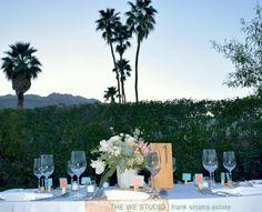 FRANK SINATRA ESTATE WEDDINGS   #frankieshouse #palmsprings #palmspringsweddings #katherineking #gethitchedinps #desertweddings