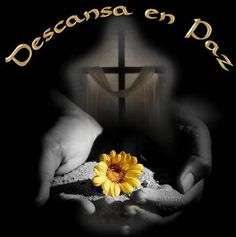 que en paz descanse images - Yahoo Search Results Condolences Quotes, Condolence Messages, Missing Loved Ones, Chevron Baby Blankets, Funeral Flower Arrangements, Good Morning My Love, Holy Rosary, Peace Quotes, Nail Art Galleries