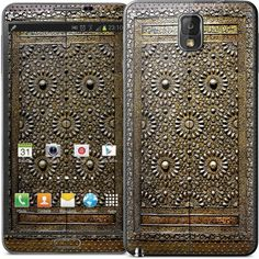 'Ancient door' Samsung Note 3 cover featuring brass&copper Holy Kaaba door from 17th century #KSA #doorsofthemagickingdom #note3 #samsung #note3cover #designcover #kaaba #door #makkah #saudiarabia #heritage #Kaaba