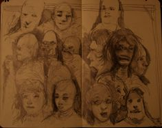 sketch book march 2011 by towarlock on DeviantArt