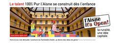 La campagne 100% pure L'Aisne, octobre 2012