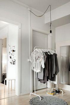 Vaatehuone // Walk in closet