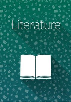"""§³over """"Literature"""" on green Graphics §³over """"Literature"""" on green background by Evgeniy"""