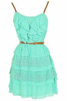 Pretty cute dress I might wear it for 6th grade graduation