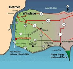 Experience nature at the most southern point of Canada! Enjoy beaches on Lake Erie, Carolinian forest, and marsh land. Find Point Pelee National Park in Leamington, Ontario, Canada. National Park Camping, National Parks, Oh The Places You'll Go, Places To Travel, Detroit Lakes, Essex County, Parks Canada, Lake Erie, Historical Sites