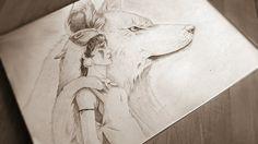 princess mononoke fan art by ouan-up.deviantart.com on @DeviantArt