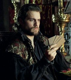 Henry Cavill depicted here as his character from The Tudors Charles Brandon Duke Of Suffolk -Seen here playing cards artwork by Urielwelsh. Superman, Enrique Viii, The Tudors Tv Show, Charles Brandon, Birthday Wish For Husband, Henry Williams, Love Henry, Medieval, Henry Viii