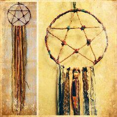 5 Pointed Star Dreamcatcher, Pentagram