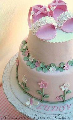 baptisim battesimo cake