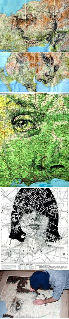 http://www.journal-du-design.fr/index.php/art/portraits-sur-cartes-routieres-par-ed-fairburn-27485/