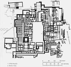 Planimetria generale del palazzo di cnosso il palazzo for Google planimetria