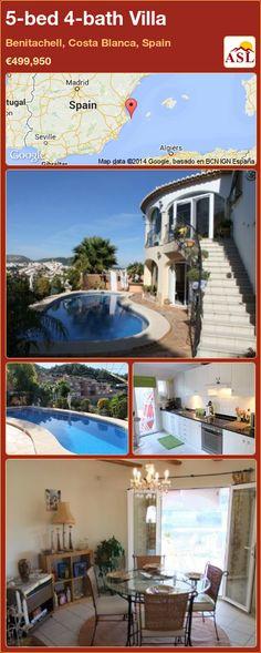 5-bed 4-bath Villa in Benitachell, Costa Blanca, Spain ►€499,950 #PropertyForSaleInSpain