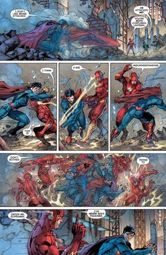 Justice League Issue - Read Justice League Issue comic online in high quality Arte Dc Comics, Flash Comics, Hq Marvel, Marvel Funny, Marvel Comics, Comic Book Pages, Comic Page, Comic Books, Flash Vs Superman