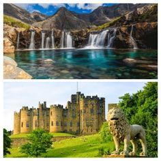 Lugares reias e lindos que parecem cenários de fantasia