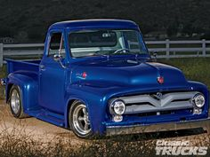 Glockner South Point Ford >> 90 Best Ford F100 - 53-55 images | Classic pickup trucks ...