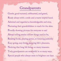 Image detail for -poems about grandparents greatgrandparents and grandchildren poems for . house poem, Grandma and Grandpa Sayings Poems About Grandparents, Quotes About Grandchildren, Grandparents Day Crafts, Grandparent Gifts, Grandparents Rights, Grandmother Poem, Grandma And Grandpa, Grandmothers, Grandfather Quotes