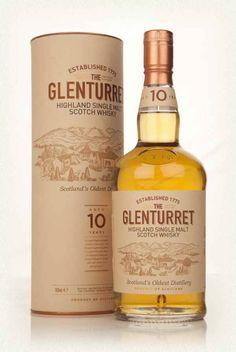 Glenturret 10 anni - Single malt delle Highlands, non torbato, molto oleoso e dal gusto pieno e dolce (provato, l'ho apprezzato molto, lo reputo un whisky importante ma alla portata di tutti, si beve facilmente e con grosse soddisfazioni)