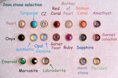 TRAGUS / LABRET / Cartilage stud /Rose or by BensJewelryCreations.  I'm buying the turquoise one as soon as my tragus heals