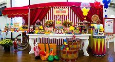 Festa Circo - encantadora | Macetes de Mãe