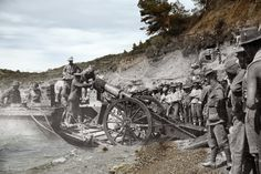 vintage everyday: Gallipoli Campaign: Overlay Images Show The First World War Battlefield Then and Today