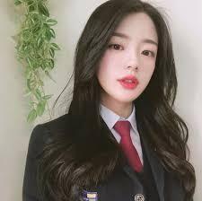 Wow , she is really pretty. Pretty Korean Girls, Cute Korean Girl, Pretty Asian, Cute Asian Girls, Beautiful Asian Girls, Cute Girls, Asian Boys, Uzzlang Girl, Korean Beauty