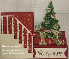 Handmade by Jenfie: Seasonal Sneak Peek - Ready for Christmas? - you will be with this cute bundle from Stampin' Up!