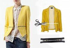 ::: OutsaPop Trashion ::: DIY fashion by Outi Pyy :::: DIY Burberry Prorsum Inspired Zipper jacket