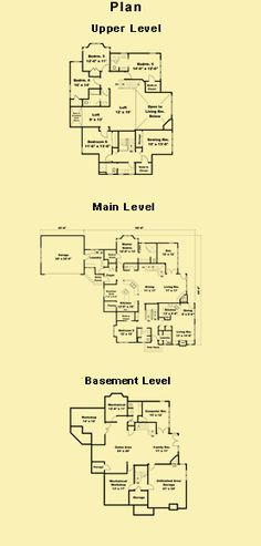 Six Bedroom House Plans and House Plans With Mother In Law Apartment