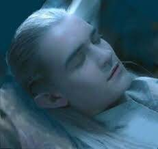 I brushed my lips against his, then settled next to him with my arm over his side and my head resting on his chest. I felt it rise and fall with his slow, steady, breathing. I fell asleep to the soothing sound of his heartbeat. Legolas And Thranduil, Aragorn, Still Love Her, Jrr Tolkien, Kissing Him, Orlando Bloom, The Elf, Great Friends, Middle Earth