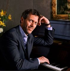 I want to meet Hugh and make music with him. Stop snickering -- I mean MUSIC.