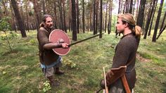 Sword Fighting As It Was For the Vikings--very interesting depiction of how they really fought as opposed to some Hollywood versions.