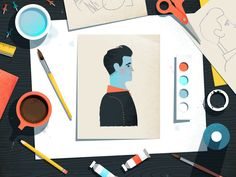 Figure Study by Matt Carlson #Design Popular #Dribbble #shots