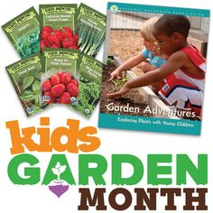 Announcing KidsGardenMonth Giveaway #1! Click on the image to find out how to win!
