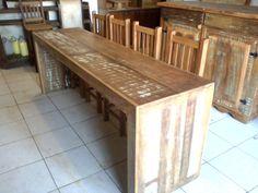 mesa madeira rustica - Pesquisa Google