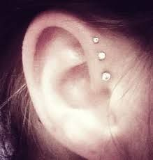 Image result for anti helix piercing